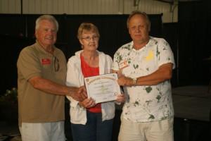 Jerry & Birty Tilley of KS--Adventure Caravans winners
