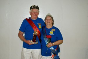 Emil and Mindy Pauwels of North Carolina are the 2015 FCRV International Retiree King and Queen.