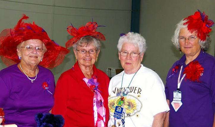 Join the Red Hats at Family Campers and RVers Retiree Rally