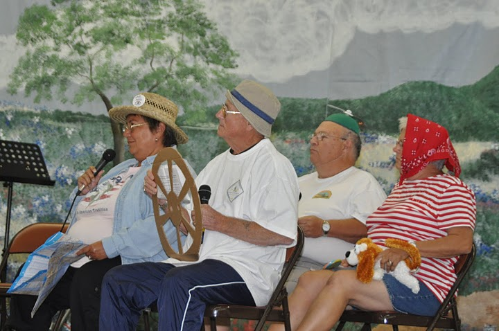 Retiree Rally Skit with Family Campers and RVers